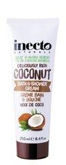 Inecto Coconut Vannas un dušas želeja 250 ml cena un informācija | Mazgašanās līdzekļi | 220.lv