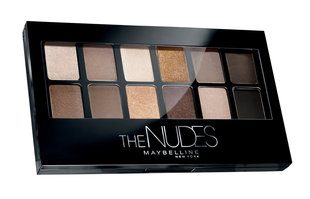 Maybelline The nudes палитра теней, 9.6 г