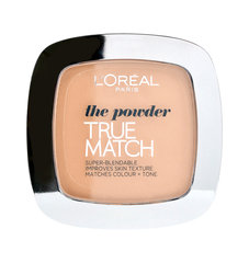 L'Oreal Paris True match powder - kompaktais pūderis, 9 g