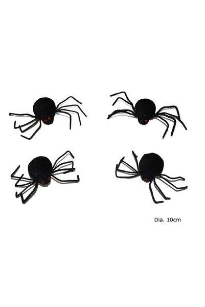 Zirnekļi (4 gab.)