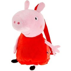 Peppa Pig Plīša rotaļlieta-mugursoma, 52 cm