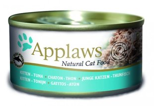 Konservi kaķiem Applaws Kitten Tuna, 70 g
