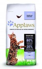 Сухой корм Applaws Dry Cat с курицей и уткой, 2 кг