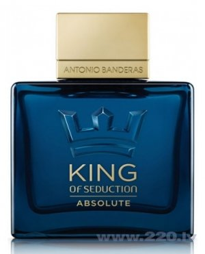 Tualetes ūdens Antonio Banderas King of Seduction Absolute edt 50 ml