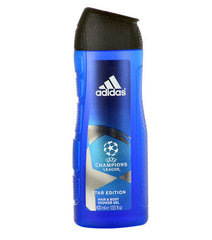 Dušas želeja Adidas UEFA Champions League Star Edition 400 ml