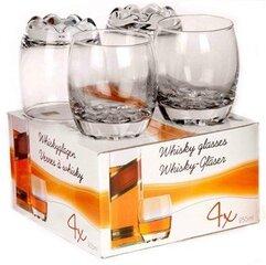 Viskija glāzes, 4 gab
