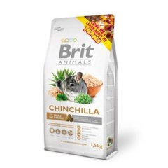 Šinšillu barība Brit Animals Chinchilla 1,5 kg