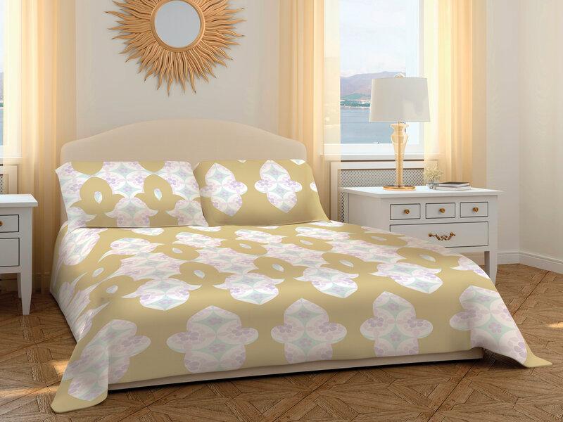 Комплект постельного белья, 3 части (200x220 см)