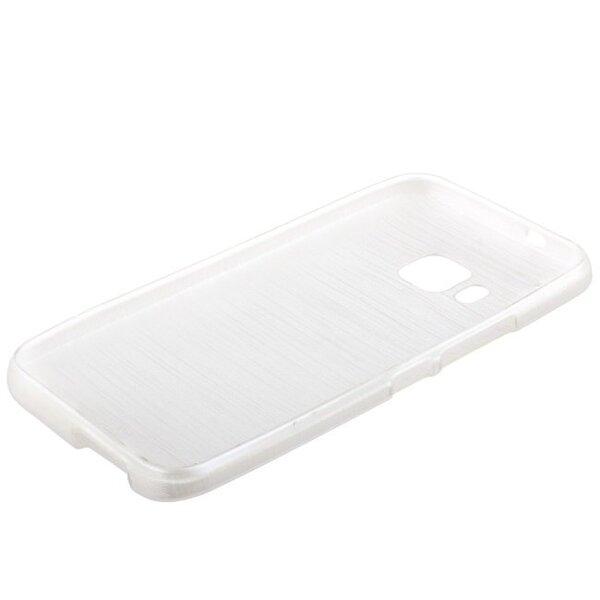 Forcell Jelly Brush Perlamutra telefona silikona apvalks HTC One M9 Balts cena