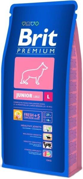 Brit Premium L Junior 15 kg