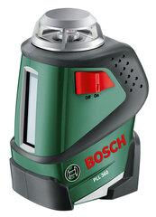 Cross-line lāzers ar statīvu Bosch PLL 360 SET cena un informācija | Instrumenti | 220.lv
