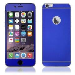 Ekrāna aizsargstikls KLT Extreeme Shock Apple iPhone 6 Plus 6S Plus (uz abām pusēm) Spoguļveida Zils
