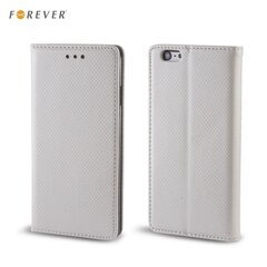 Forever Magnēstikas Fiksācijas Sāniski atverams maks bez klipša Apple iPhone 6 6S Sudrabains cena un informācija | Forever Magnēstikas Fiksācijas Sāniski atverams maks bez klipša Apple iPhone 6 6S Sudrabains | 220.lv