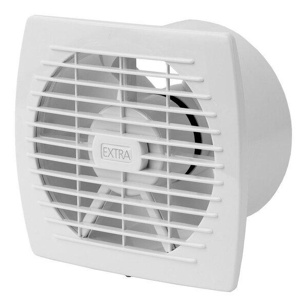 Nosūces ventilators Europlast EXTRA d100mm cena un informācija | Ventilatori vannas istabai | 220.lv