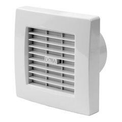 Nosūces ventilators Europlast EXTRA d120mm ar žalūzijām, taimeri un mitruma sensoru