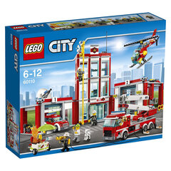 60110 LEGO® City Fire Station Пожарная станция