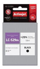 Ink ActiveJet AB-529BN   black   58 ml   Brother LC529BK cena un informācija   Kārtridži   220.lv