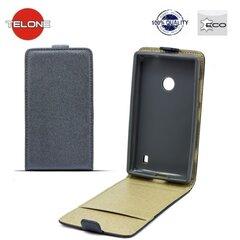 Telone Shine Pocket Slim Flip Case Samsung A310 Galaxy A3 telefona maks vertikāli atverams Pelēks