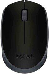 Logitech - M171 Black (Черная) цена и информация | Peles | 220.lv