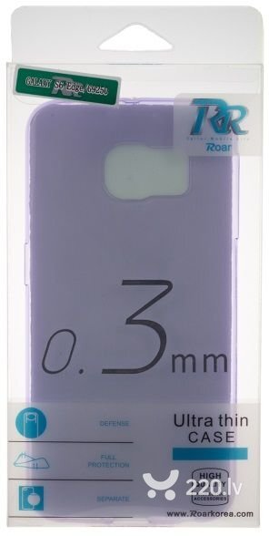 Roar Super Plāns 0.3mm Premium Kvalitātes Aizmugures Apvalks Samsung i9300 i9301 Galaxy S3 S3 Neo Caurspīdīgi Violets (EU Blister) cena