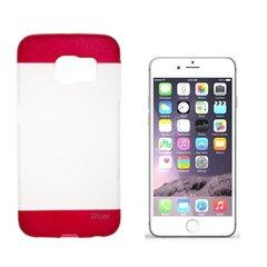 "Roar Fit Up Silikona Plāns Aizmugures Apvalks Apple iPhone 6 Plus 6S Plus 5.5"" Caurspīdīgs - Sarkans (EU Blitser) cena un informācija | Roar Fit Up Silikona Plāns Aizmugures Apvalks Apple iPhone 6 Plus 6S Plus 5.5"" Caurspīdīgs - Sarkans (EU Blitser) | 220.lv"