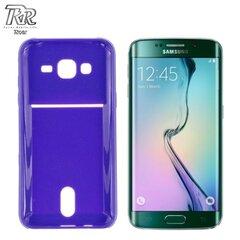 Roar Super Plāns Aizmugures Maks ar nodalījumu kartēm Samsung G925 Galaxy S6 Edge Violets (EU Blister)