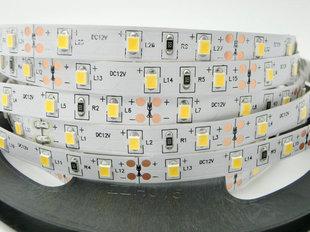 16W / m LED lente Luxsonn , 2835, 120 LED / m 1480 lm / m (3000K) silti balta