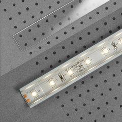 LED vāciņš plaša profila sloksnei, caurspīdīgs