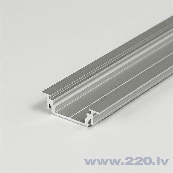 2m LED sloksnes Profils GROOVE14