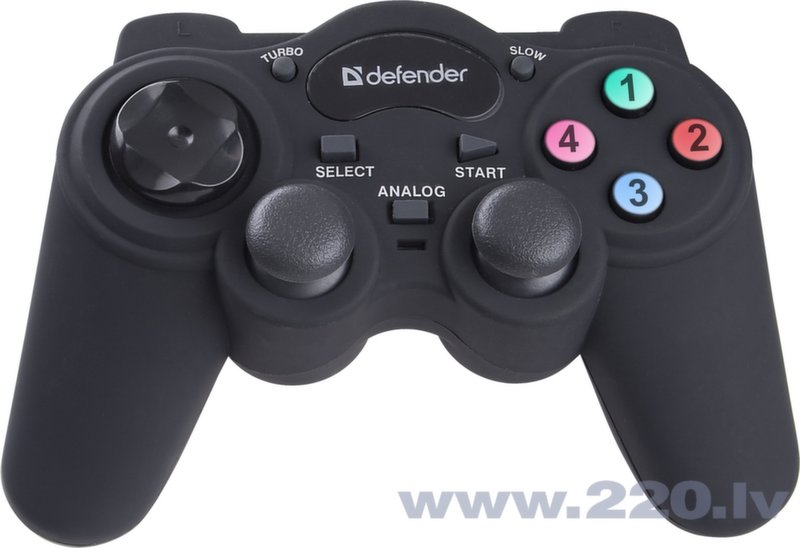 Defender kontrolleris Game Racer Turbo RS3 PS2/PS3 USB