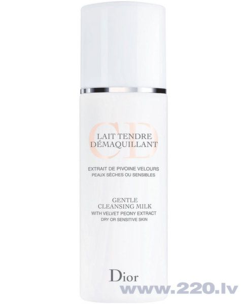 Maigs attīrošs pieniņš Christian Dior Lait Tendre Demaquillant 200 ml