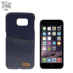 "Roar Noble Skin Super Plāns Eko ādas Aizmugures Maks ar nodalījumu kartēm Apple iPhone 6 Plus 6S Plus 5.5"" Tumši Zils (EU Blister) cena un informācija | Roar Noble Skin Super Plāns Eko ādas Aizmugures Maks ar nodalījumu kartēm Apple iPhone 6 Plus 6S Plus 5.5"" Tumši Zils (EU Blister) | 220.lv"