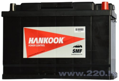Akumulators Hankook 100Ah 850A MF60038