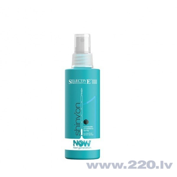 Izsmidzināms matu spīdums Selective Shiny'On 150 ml