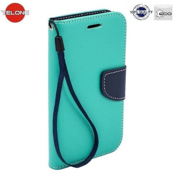 Telone Fancy Diary Book Case Чехол-книжка со стендом для мобильного телефона Samsung Galaxy A3 (A310/A310F), Голубой/Синий