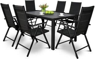 Dārza mēbeles Sydney galds+6 krēsli cena un informācija | Dārza mēbeļu komplekti | 220.lv