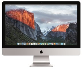 "Apple iMac 27"" 5K MK472 SWE (Late 2015)"