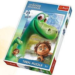 "Puzle Trefl ""The Good Dinosaur"" 24 gab."