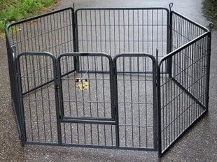 Вольер для собак Happy Pet, 85x62 см x 6 шт.