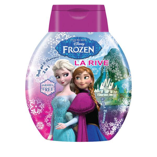 Šampūns/dušas želeja bērniem La Rive FROZEN, 250 ml
