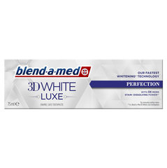 Зубная паста Blend A Med 3DW Luxe Perfection, 75мл