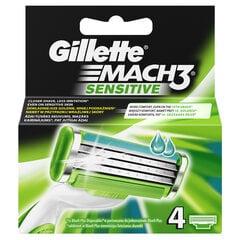 Сменные кассеты Gillette Mach3 Sensitive 4 шт.
