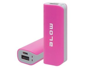 Lādētājs-akumulators Power Bank 4000mAh 1xUSB PB11 PINK