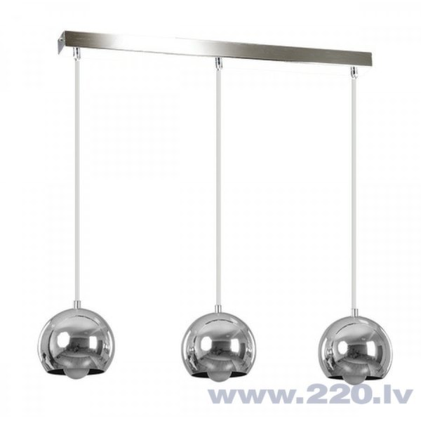 Piekaramā Lampa Emibig BALL 3 Chrome