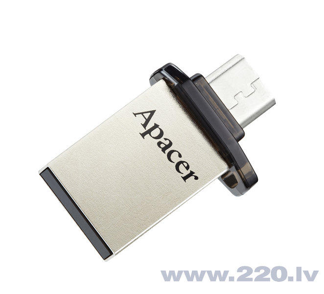 USB zibatmiņa APACER USB2.0 Mobile Flash Drive AH175 16GB, Melna cena