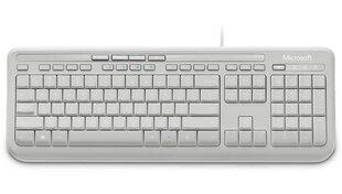 Microsoft Desktop 600 USB Tastatūra ENG White