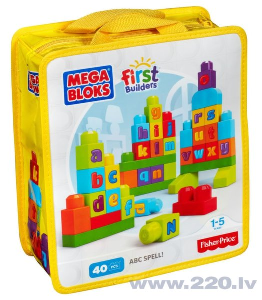 Mega Bloks First Builders, ABC Spell! DKX58