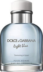 Tualetes ūdens Dolce & Gabbana Light Blue Swimming in Lipari edt 75 ml