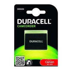 Duracell Premium Analogs Canon BP-808 Akumulātors video kamerām FS10 HG10 Li-Ion 7.4V 850mAh