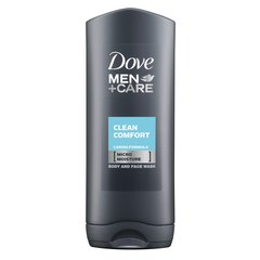 Dušas želēja Dove Men +Care Clean Comfort 400 ml cena un informācija | Dušas želēja Dove Men +Care Clean Comfort 400 ml | 220.lv